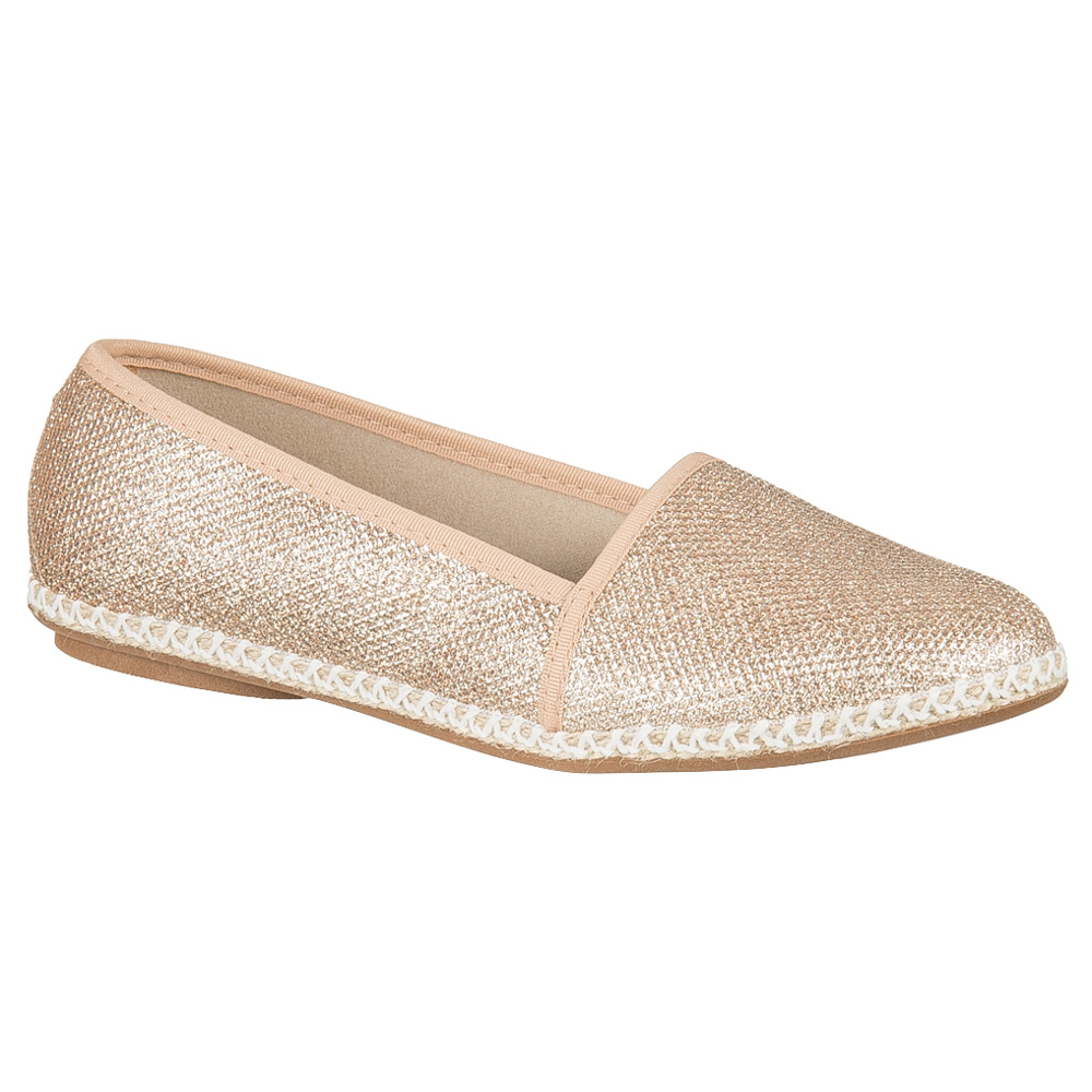Balerinki Moleca Tela Glamour 9603 Light Gold 00066