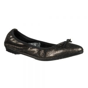 Balerinki Tamaris 1-22127-24 Black Metallic