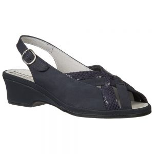 Sandały Comfort Shoes 4X/383S Blue